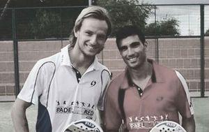 Ivan Rakitić i Jose Antonio Reyes (Screenshot Twitter)