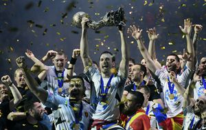 Slavlje Vardara (Foto: AFP)