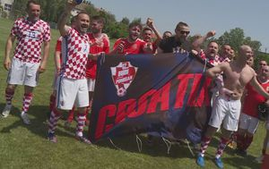 Hrvatski i velški navijači (Foto: GOL.hr)