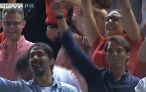 Rafa Nadal slavi treći pogodak Mallorce (Screenshot)