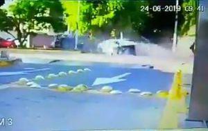 Snimka nesreće koju je skrivio Joao Maleck (Screenshot)