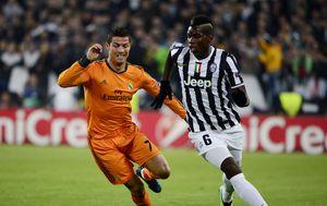 Cristiano Ronaldo i Paul Pogba (Foto: AFP)