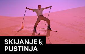 Skijanje na pijesku