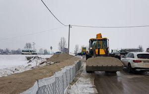 Postavljanje box-barijera na području Karlovca (Foto: Dnevnik.hr) - 1