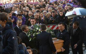 Ispraćaj Davidea Astorija (Foto: AFP)