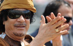 Moamer Gadafi (foto: AFP)