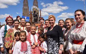Susret s argentinskim Hrvatima (Foto: Ured predsjednice)