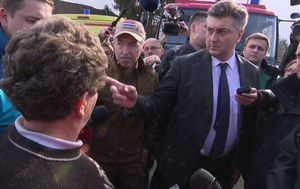 Premijer Andrej Plenković i ministri obećali pomoći Refiki Hamzagić (Foto: Dnevnik.hr)