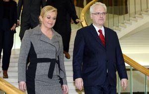 Kolinda Grabar-Kitarović i Ivo Josipović (Foto: Robert Anic/PIXSELL)