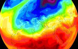 Temperaturna karta (Foto: Severe Weather Europe/Facebook)
