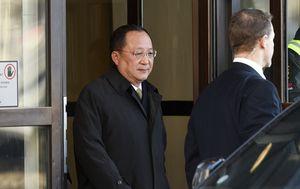 Ri Yong Ho u Švedskoj (Foto: AFP)