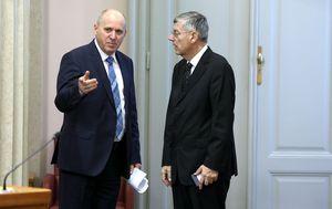 Željko Reiner i Branko Bačić (Foto: Patrik Macek/PIXSELL)