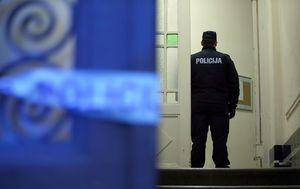Policijski očevid u Zagrebu (Foto: Jurica Galoic/PIXSELL)