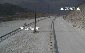 Zbog nevremena zatvorene dionice autocesta (Foto: HAK)
