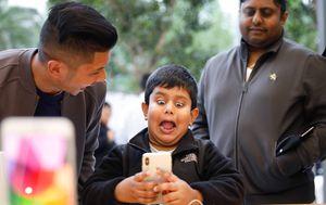 Apple iPhone X (Foto: AFP)