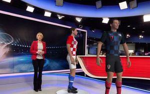 Novi dres hrvatske nogometne reprezentacije (Foto: GOL.hr)