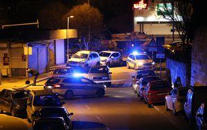 Očevid nakon pucnjave u Splitu (Foto: Ivo Cagalj/PIXSELL)