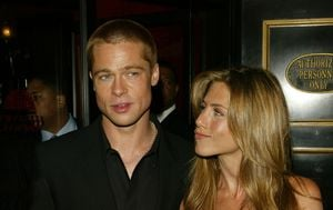Brad Pitt, Jennifer Aniston (Foto: Getty Images)