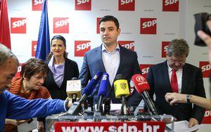 Davor Bernardić i Miradno Mrsić (Foto: Igor Soban/PIXSELL)