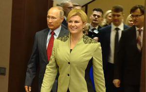 Kolinda Grabar Kitarović i Vladimir Putin (Foto: Dnevnik.hr)