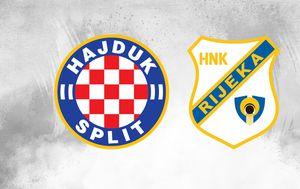 Hajduk - Rijeka (Foto: GOL.hr)