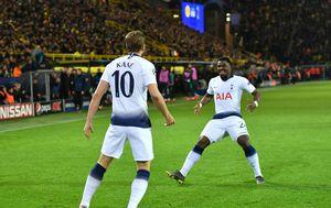 Slavlje Tottenhama (Foto: AFP)
