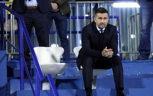 Bjelica na posebno montiranoj stolici na utakmici protiv Benfice (Foto: Marko Lukunic/PIXSELL)