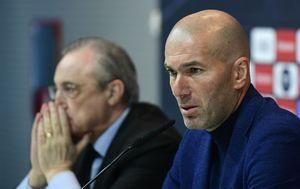 Zinedine Zidane i Florentino Perez (Foto: AFP)