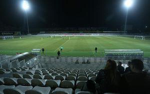 Na utakmici Rudeš – Inter Zaprešić bio je 91 gledatelj (Foto: Luka Stanzl/PIXSELL)