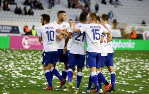 Hajduk slavi (Foto: Miranda Cikotic/PIXSELL)