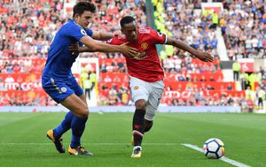 Uskoro suigrači? Harry Maguire i Anthony Martial (Foto: Anthony Devlin/Press Association/PIXSELL)