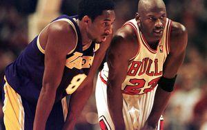 Kobe Bryant i Michael Jordan (Foto: AFP)