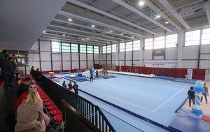Nova dvorana za gimnastičare (Foto: Luka Stanzl/PIXSELL)