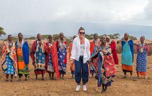 Petra Fruk s Maasai plemenom - 19