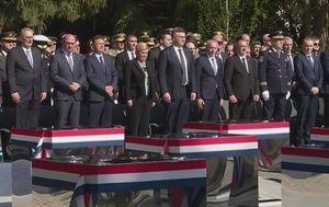 Državni vrh na obljetnici Bljeska (Foto: Dnevnik.hr)