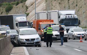 Prometna nesreća (Foto: Ivo Cagalj/PIXSELL)