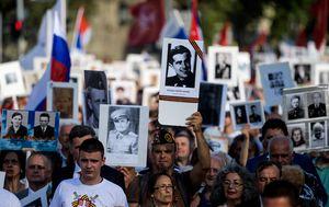 Marš Besmtnog puka (Foto: AFP)