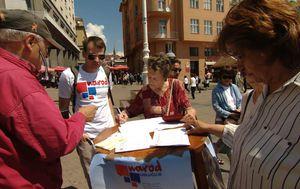 Počelo prikupljanje potpisa za referendume (Foto: Dnevnik.hr) - 3