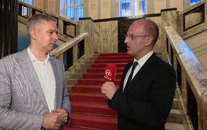 Darinko Kosor i Mislav Bago (Foto: Dnevnik.hr)
