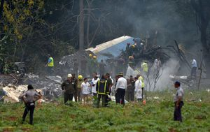 Pad aviona na Kubi (Foto: AFP) - 4