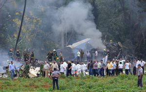 Zrakolovna nesreća na Kubi (Foto: AFP)