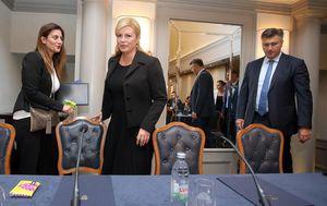 Kolinda Grabar-Kitarović i Andrej Plenković, arhiva (Foto: Goran Stanzl/PIXSELL)