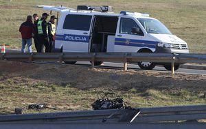 Policija na autocesti obavlja očevid, ilustracija (Foto: Kristina Stedul Fabac/PIXSELL)
