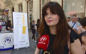 Sandra Karabatić, članica Nacionalnog povjerenstva za borbu protiv pušenja (Foto: Dnevnik.hr)