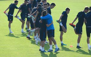Luka Modrić i Zlatko Dalić (Photo: Marko Prpic/PIXSELL)