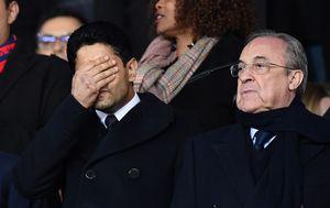 Nasser Al-Khelaifi i Florentino Perez (Foto: AFP)