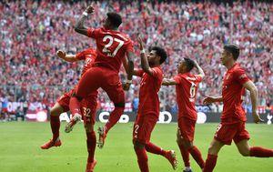 Slavlje Bayerna (Foto: AFP)