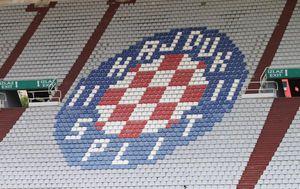Grb Hajduka na istočnoj tribini Poljuda (Foto: Ivo Čagalj/PIXSELL)