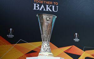 Trofej pobjednika Europske lige (Foto: AFP)