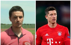 Gordan Golik i Robert Lewandowski
